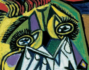 Picasso, weeping woman (1937)